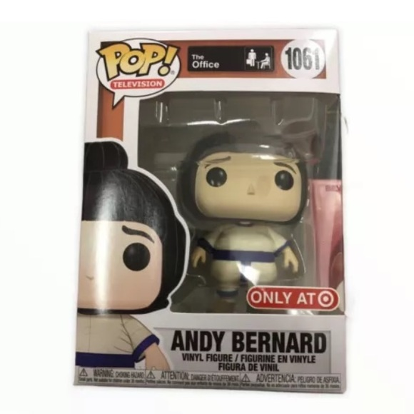 Andy Bernard #1061 Funko The Office Exclusive